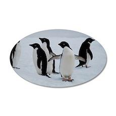 Adelie Penguin in Antarctica Wall Decal