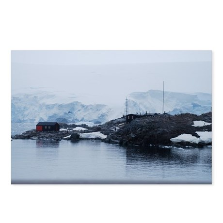 Port Lockroy Antarctica Postcards (Package of 8)