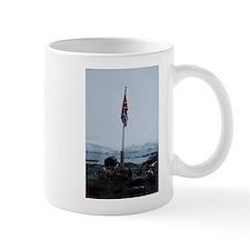 British flag at Port Lockroy Antarctica Mug