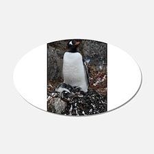 Gentoo Penguin at Port Lockroy Wall Decal