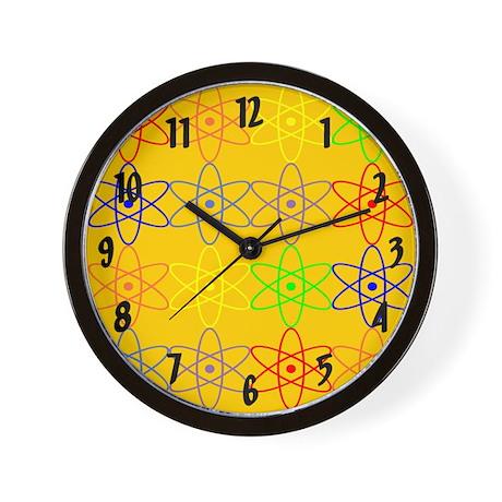 colorful rainbow nuclear wall clock Wall Clock