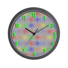 Cool Nuclear clock retro cold war Wall Clock