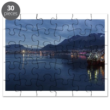 Ushuaia Argentina Harbor Puzzle