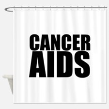 CancerAids Shower Curtain