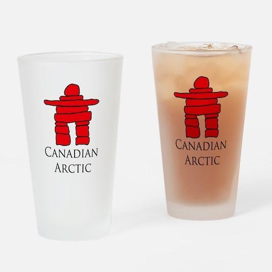 Inukshuk Drinking Glass