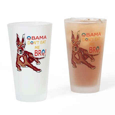 DONT EAT ME BRO Drinking Glass