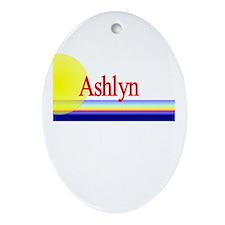 Ashlyn Oval Ornament