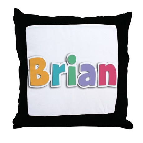 Brian Throw Pillow