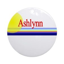 Ashlynn Ornament (Round)