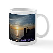 Cute Seaside park Mug