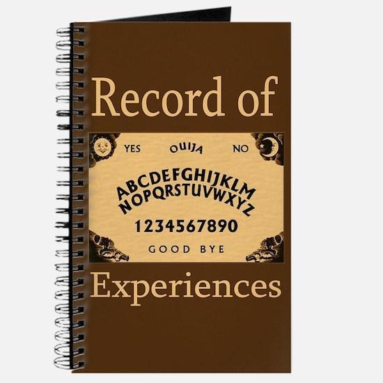 """""""Ouija Board"""" Journal"""