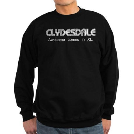 Clydesdale - Awesome Sweatshirt (dark)