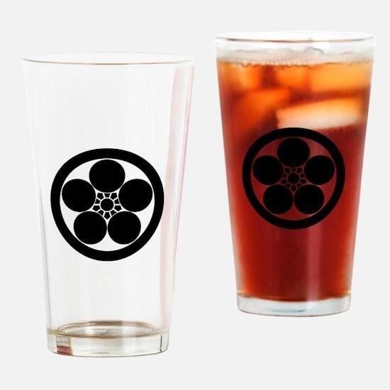 maru ni umebachi Drinking Glass