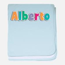 Alberto baby blanket