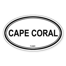 Cape Coral (Florida) Oval Decal