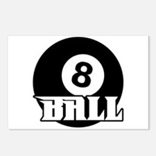 8 Ball Postcards (Package of 8)