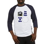 Paste CD to Shirt Baseball Jersey