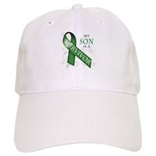 My Son is a Survivor (green).png Baseball Cap