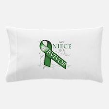My Niece is a Survivor (green).png Pillow Case