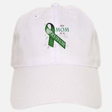 My Mom is a Survivor (green).png Baseball Baseball Cap
