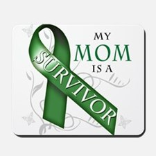 My Mom is a Survivor (green).png Mousepad