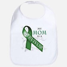 My Mom is a Survivor (green).png Bib