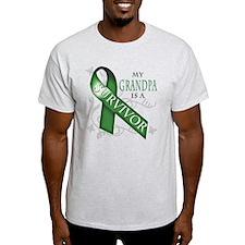 My Grandpa is a Survivor (green).png T-Shirt
