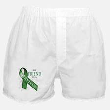 My Friend is a Survivor (green).png Boxer Shorts