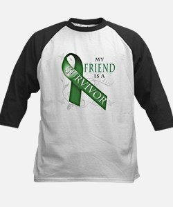 My Friend is a Survivor (green).png Tee