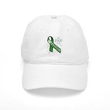 My Dad is a Survivor (green).png Baseball Baseball Cap