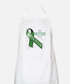 My Brother is a Survivor (green).png Apron