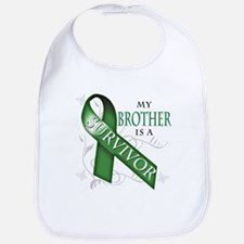 My Brother is a Survivor (green).png Bib