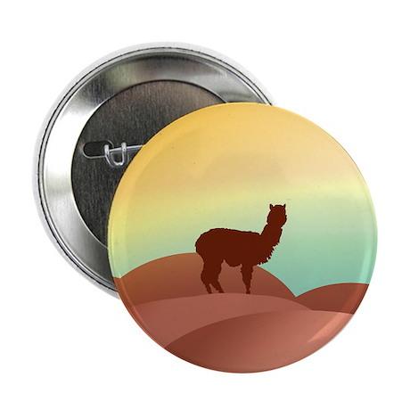 """alpaca landscape 2.25"""" Button (10 pack)"""