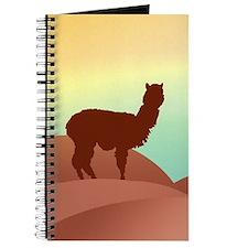alpaca landscape Journal