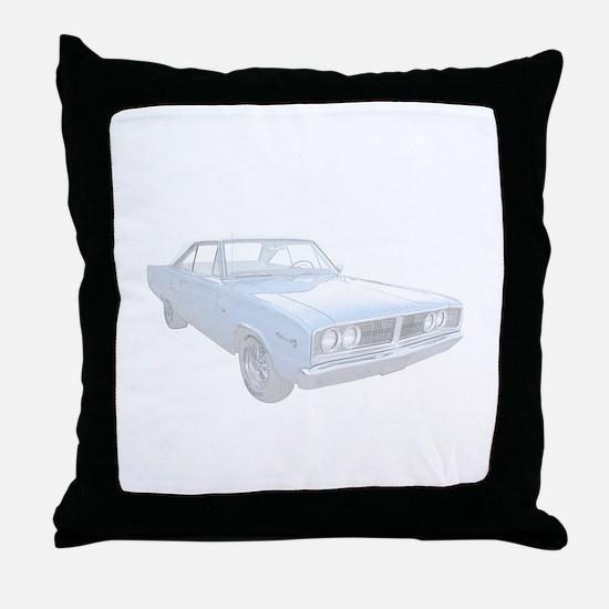 Dodge Coronet Throw Pillow