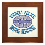 Israeli Police Hostage Negoti Framed Tile