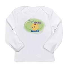 Yoga Chick Long Sleeve Infant T-Shirt