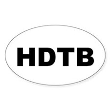 HDTB Oval Decal