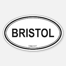 Bristol (Connecticut) Oval Decal