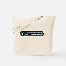 Locked Him Down (Achievement) Tote Bag