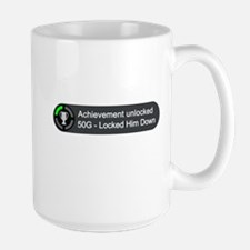 Locked Him Down (Achievement) Mug
