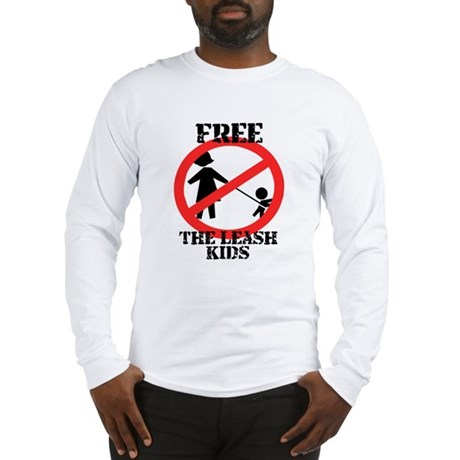 Free the leash kids Long Sleeve T-Shirt