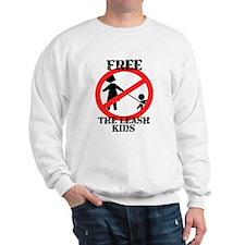 Free the leash kids Sweatshirt