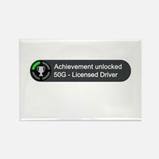 Licensed Driver (Achievement) Rectangle Magnet