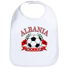 Albania Soccer Designs Bib