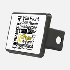 Childhood Cancer Persevere Hitch Cover