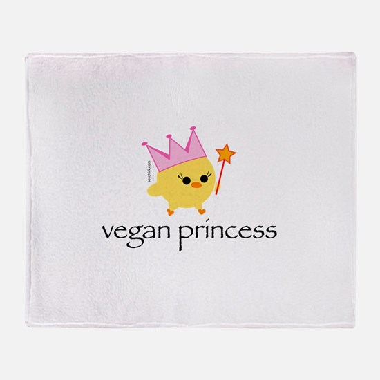vprincess.png Throw Blanket