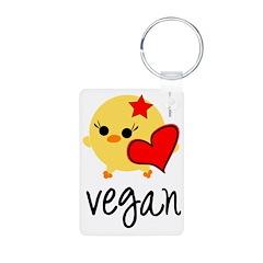 veganhart2.png Keychains