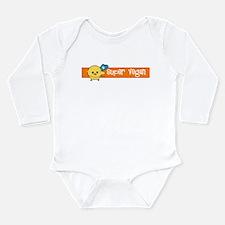soy wonder Long Sleeve Infant Bodysuit