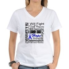 Colon Cancer Persevere Shirt